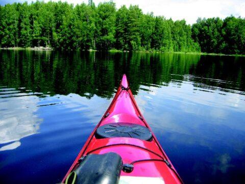 Spływ kajakowy Wełną